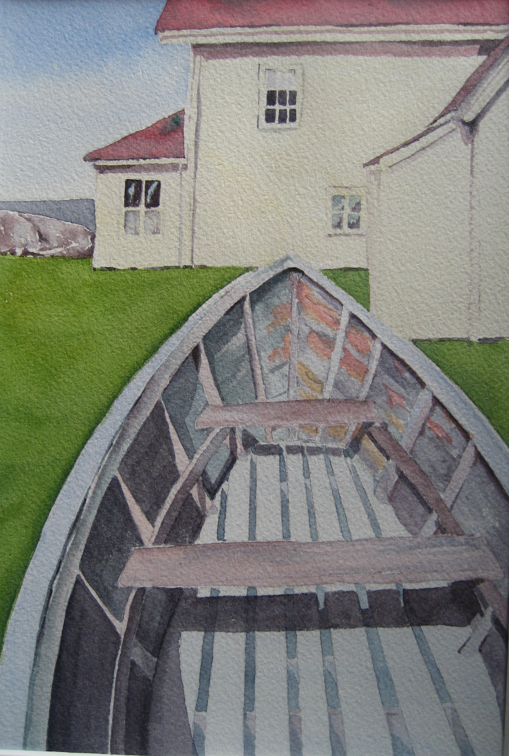 """Beached on Monhegan Island"""