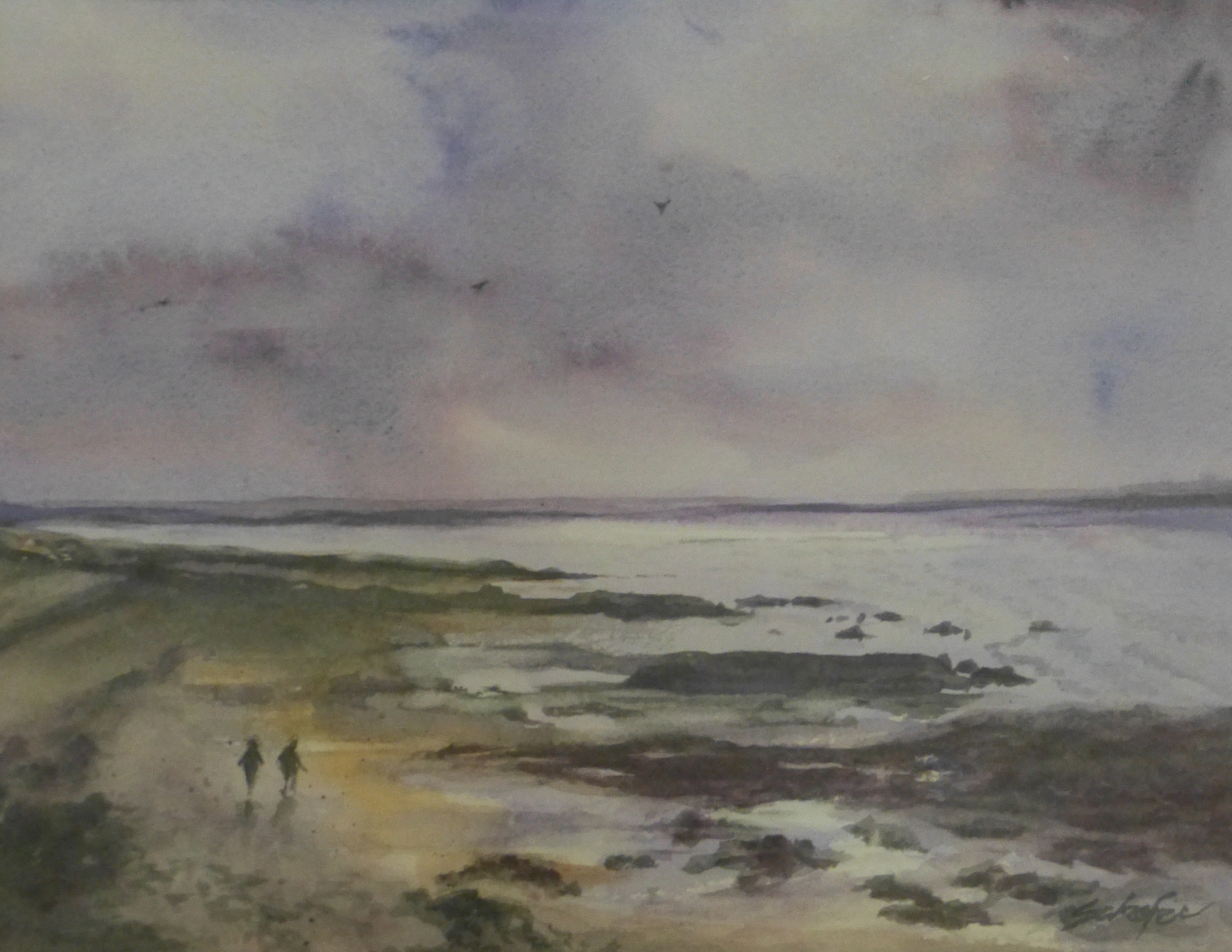 """Serenity of Galway Bay"""