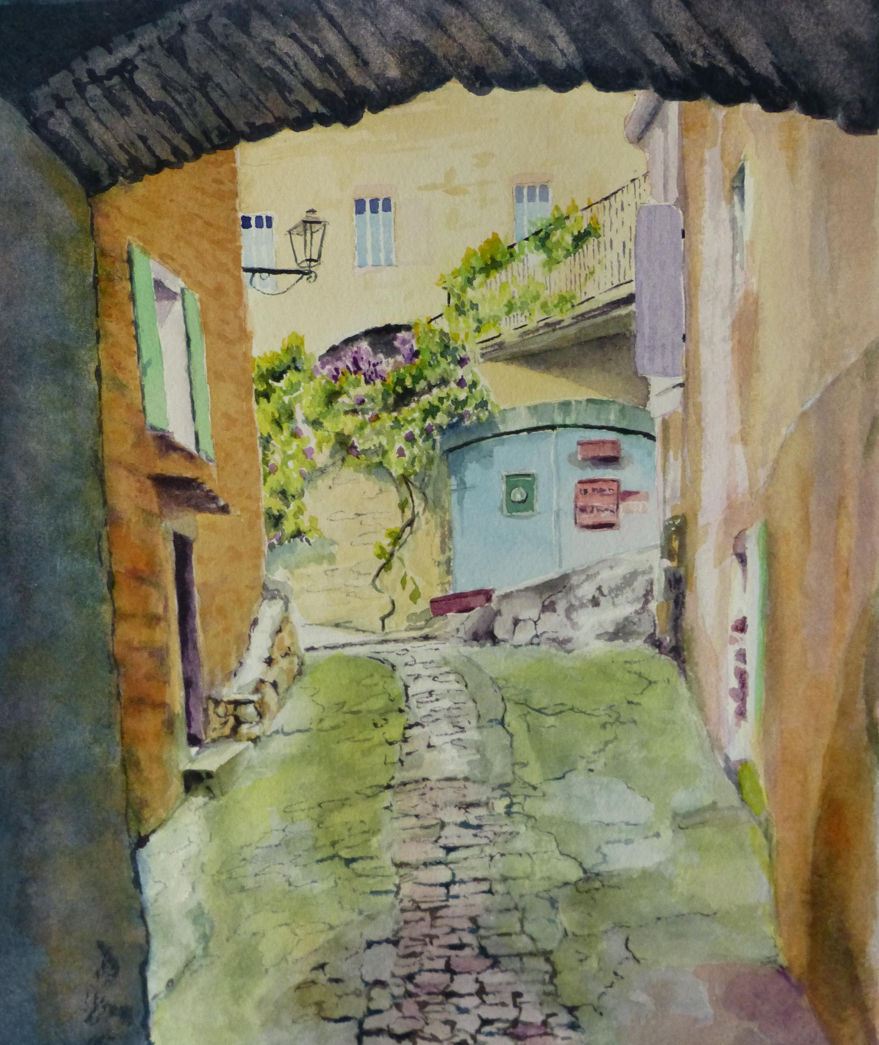 """Passageway en Provence"""