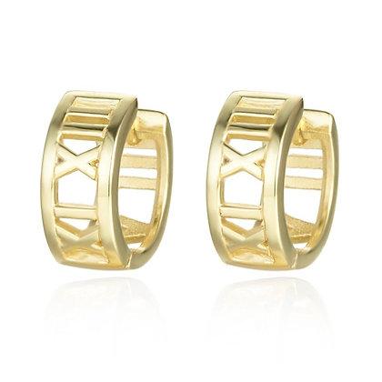 ROMAN GOLD EARRINGS