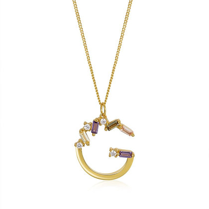 G LETTER GOLD NECKLE