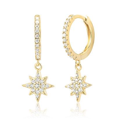 COSMIC GOLD EARRINGS