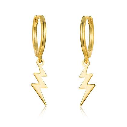 FLASH GOLD EARRINGS