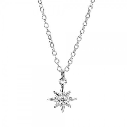 SHOOTING STAR SILVER NECKLACE