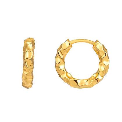CAVALIER GOLD EARRINGS