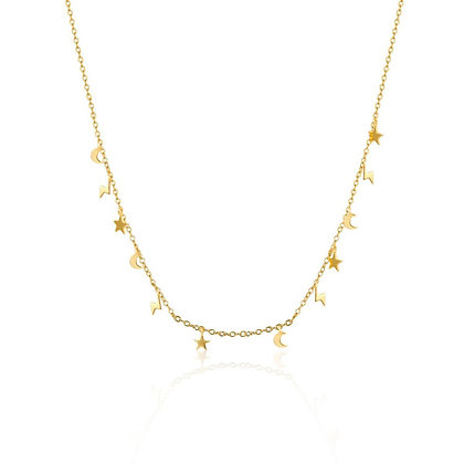 HEAVEN GOLD NECKLACE