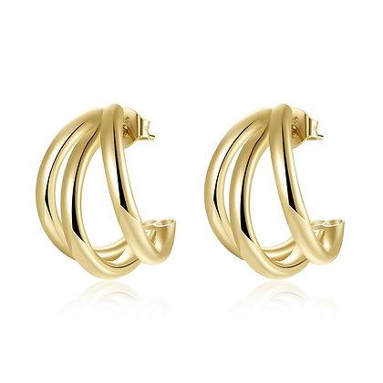 OFELIA GOLD EARRINGS