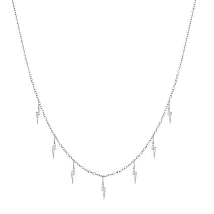 ELECTRIC SILVER NECKLACE