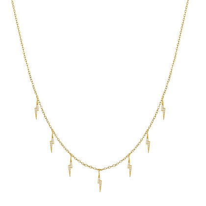 ELECTRIC GOLD NECKLACE