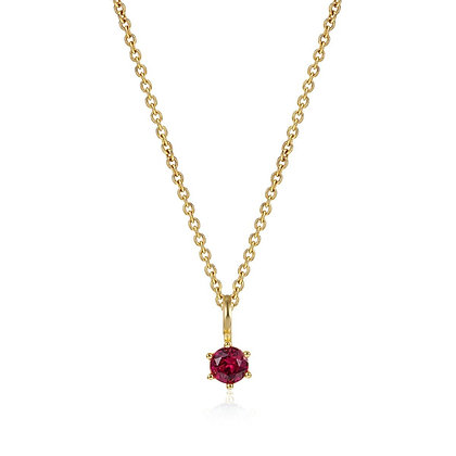CHERRY GOLD NECKLACE