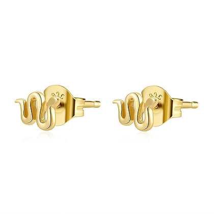 LITTLE BOA GOLD EARRINGS