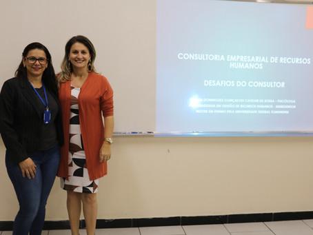 """A disciplina """"Iniciação à Consultoria"""" promove importante palestra"""