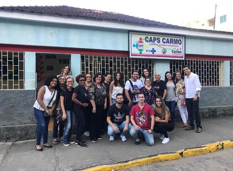 Visita ao Programa de Saúde Mental do Carmo (RJ)