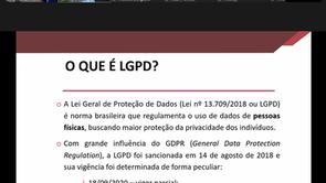 DIREITO EM TELA: LGPD, O QUE PRECISAMOS SABER?