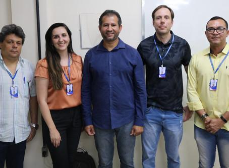 Palestra sobre energia fotovoltaica para alunos da Engenharia e Administração
