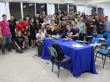 Grande público marca presença  na Semana do profissional de Educação Física