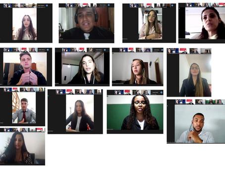 Estudantes de Direito da FASAP participam da Turma Recursal Simulada Virtual