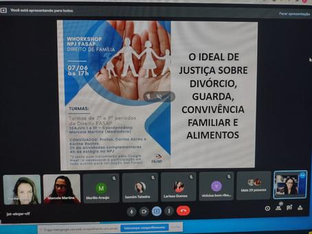 I Workshop NPJ FASAP - DIREITO DE FAMÍLIA