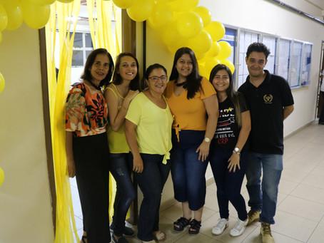 """Sala temática sobre """"Setembro Amarelo"""""""