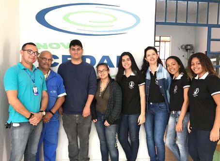 A Engenharia Civil e a Administração visitam Estação de Tratamento de Água (ETA)
