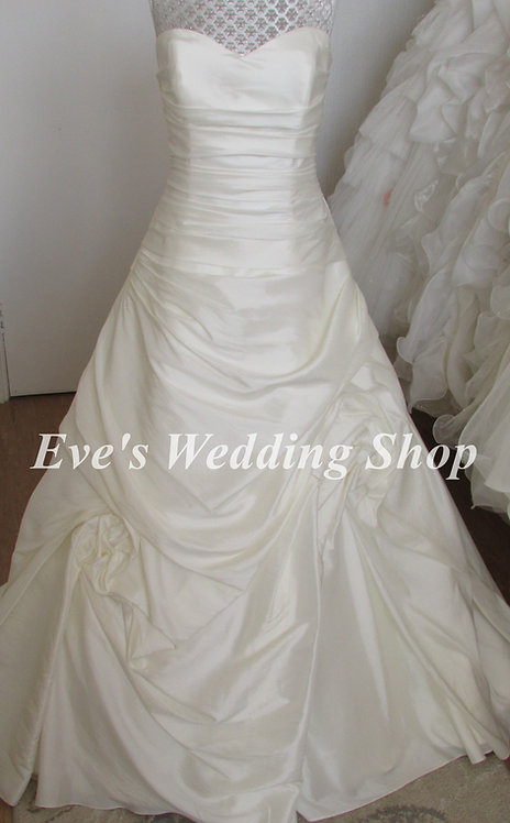 Trudy Lee ivory wedding dress UK 16/18