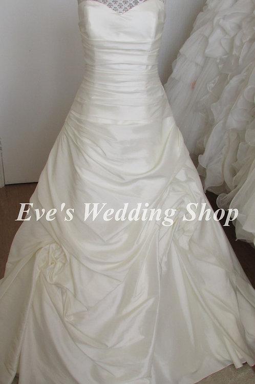 Trudy Lee ivory wedding dress UK 16/18