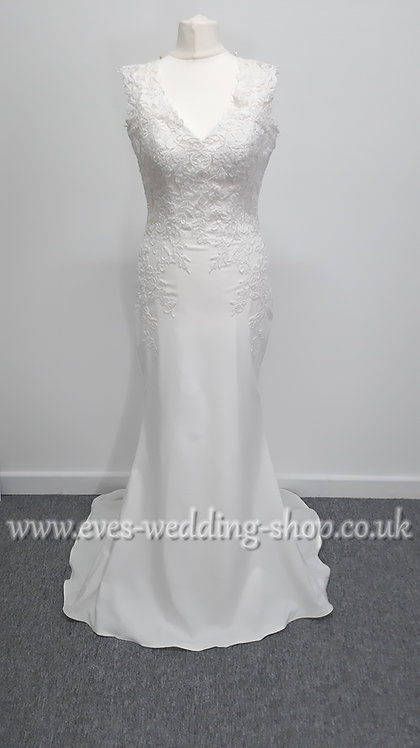 Ladybird wedding dress size EU38- UK 10