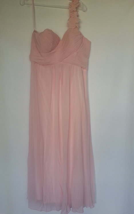 Ever Pretty pink bridesmaid dress Uk 16