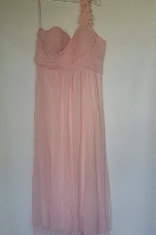 Ever Pretty pink bridesmaid dress Uk 16