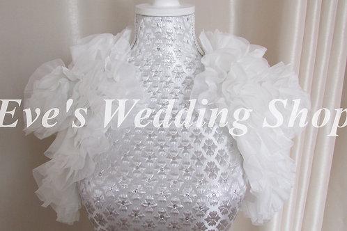 Beautiful wedding jacket approx. size 14