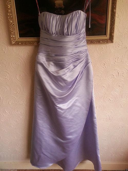 VEROMIA LILAC BRIDESMAID DRESS UK 16