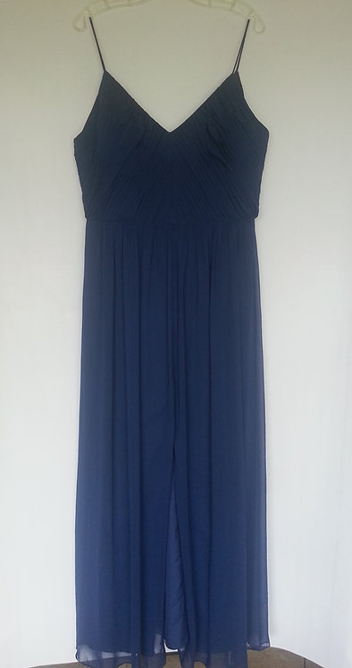 Dessy 2989 sophia blue color evening / bridesmaid dress UK 16