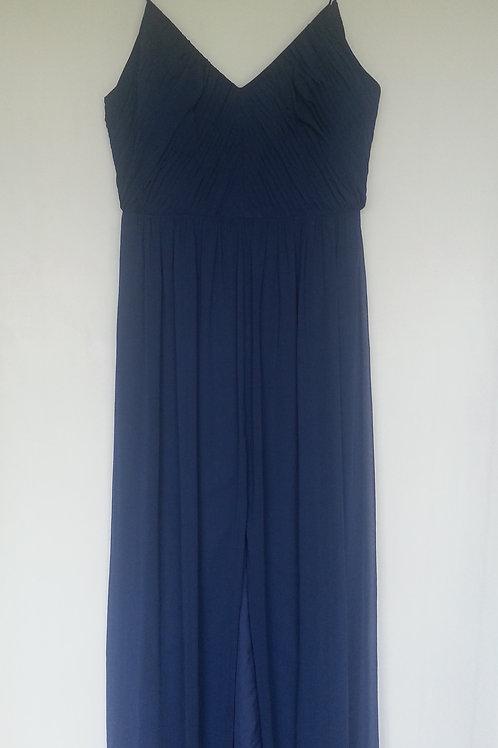 Dessy 2989 sophia blue color evening / bridesmaid dress UK 16