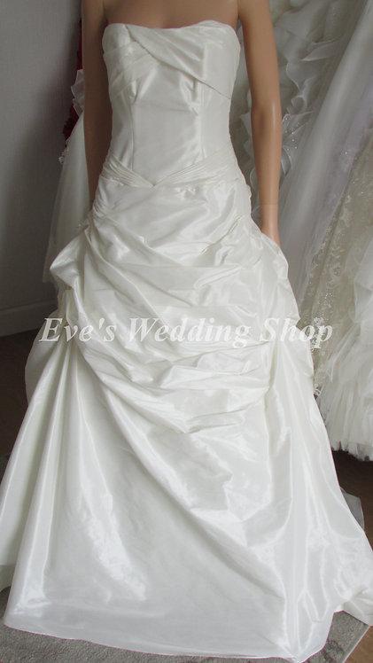 DEMETRIOS STYLE DM077 IVORY PRINCESS DRESS 12