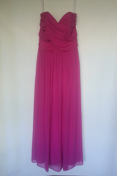 Dessy 2880 American beauty color evening / bridesmaid dress UK 14