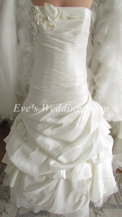 San Patrick ivory wedding dress UK size 8