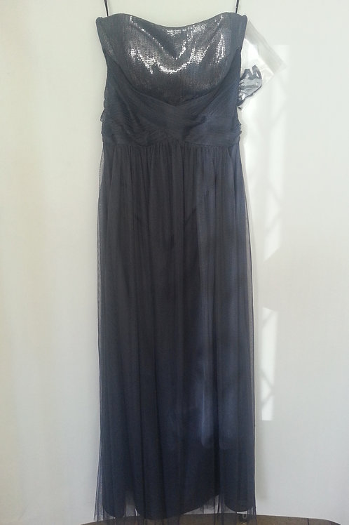 Dessy 6743 stormy color  evening / bridesmaid dress UK 12