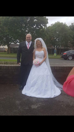 Gemma with husband ♡
