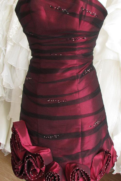 SACHA JAMES SHORT BRIDESMAID / EVENING DRESS 6/8