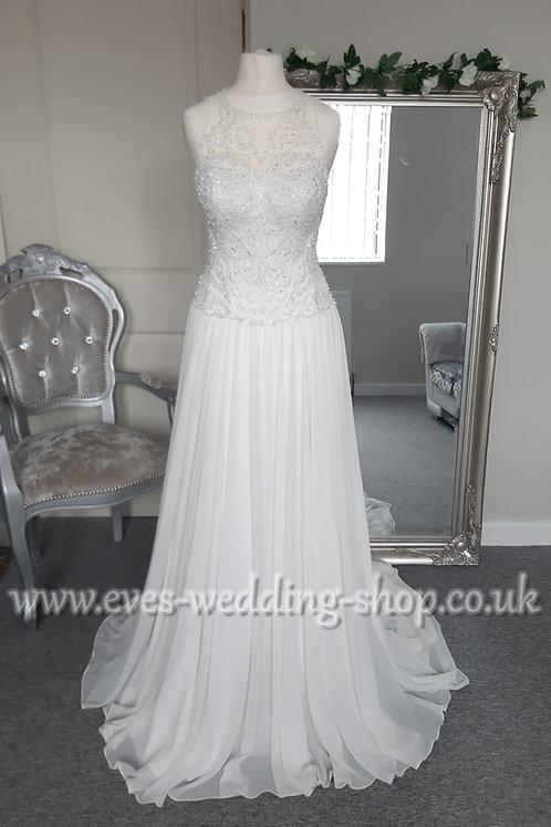 Diane Harbridge beach wedding dress UK 6