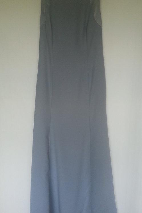 Dessy 2923 platinum evening / bridesmaid dress Uk 14