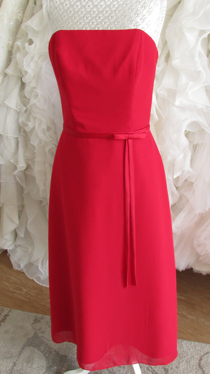 REA RED BRIDESMAID  DRESS,EVENING DRESS 8