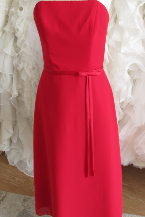 REA RED BRIDESMAID  DRESS,EVENING DRESS 8