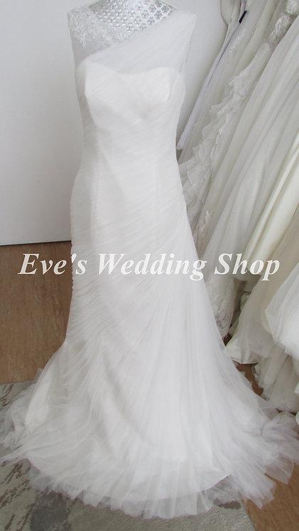 San Patrick ''the white one'' ivory wedding dress UK 10/12