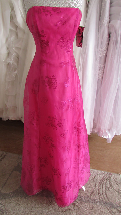 NIKI LIVAS SPARKLY FUSCHIA dress 10/12