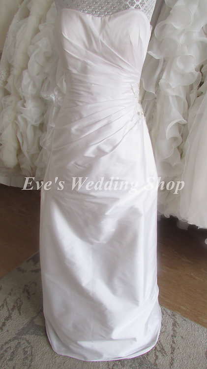 Bellice simple wedding dress UK10/12