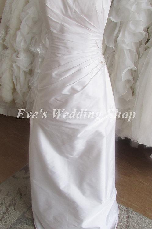 Bellice simple wedding dress UK10/12