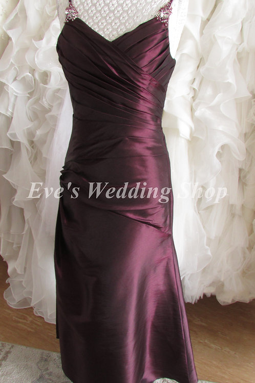 PLUM MARK LESLEY BRIDESMAID DRESS FOR 12 YEARS OLD