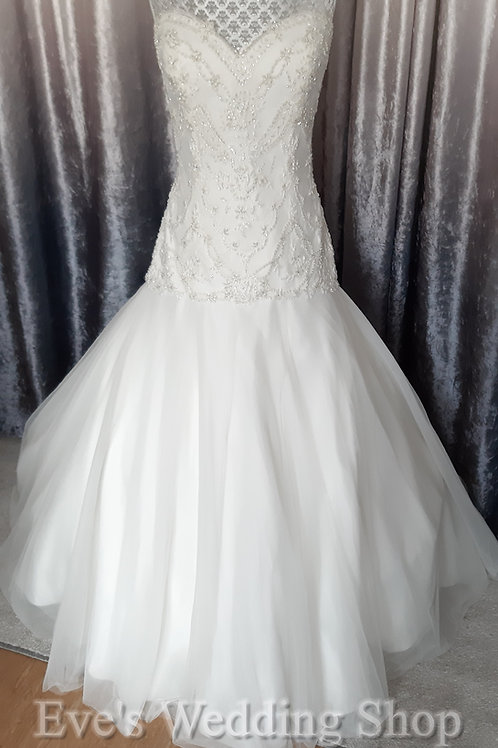 WTOO ivory wedding dress UK 14