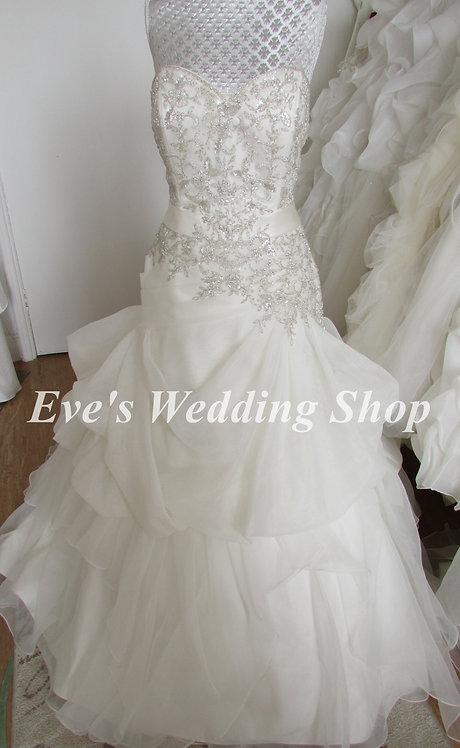 Alfred Angelo Style UK 892 ivory wedding dress UK size 14/16